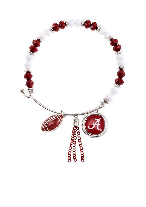 accessory PLAYS® Silver-Tone University of Alabama Crimson Tide