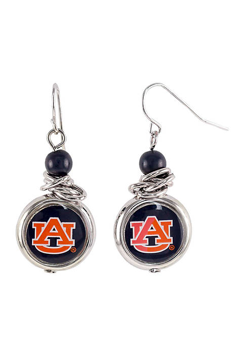 accessory PLAYS® Auburn Tigers Silver-Tone Bead with Scrunch