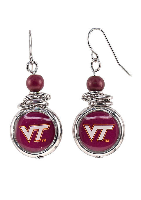 accessory PLAYS® Virginia Tech Hokies Silver Bead with