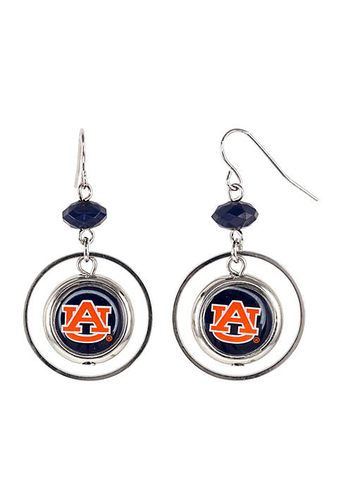 accessory PLAYS® Auburn Tigers Hoop Insert Earrings