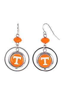 University of Tennessee Volunteers Orbital Logo Drop Earrings