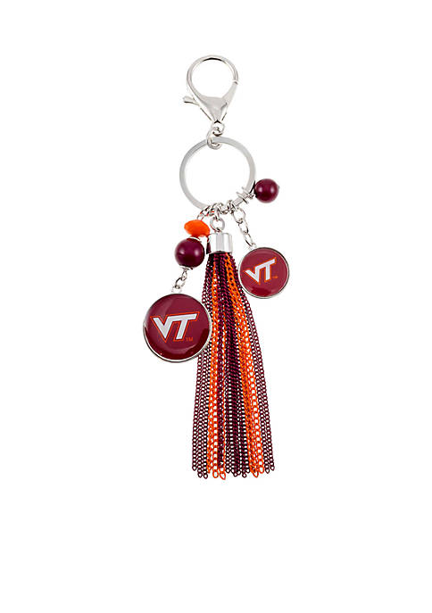 accessory PLAYS® Silver-Tone Virginia Tech Logo Bead and