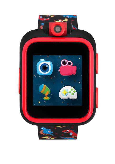iTouch PlayZoom Smartwatch For Kids: Black with Dinosaur