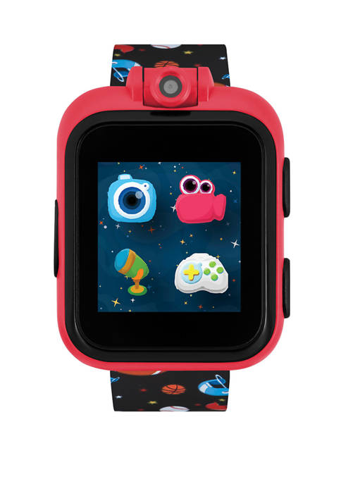 iTouch PlayZoom Smartwatch For Kids: Black with Sports