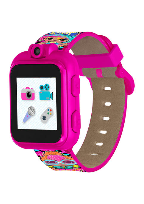 iTouch LOL Suprise! PlayZoom Kids Smartwatch: Neon Cheetah