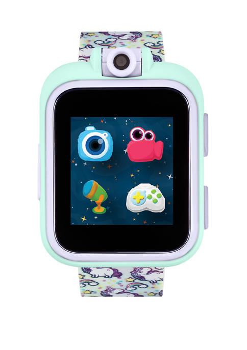 PlayZoom Smartwatch For Kids: Rainbow with Unicorns Print