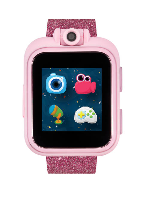 PlayZoom Smartwatch For Kids: Rainbow Glitter Print