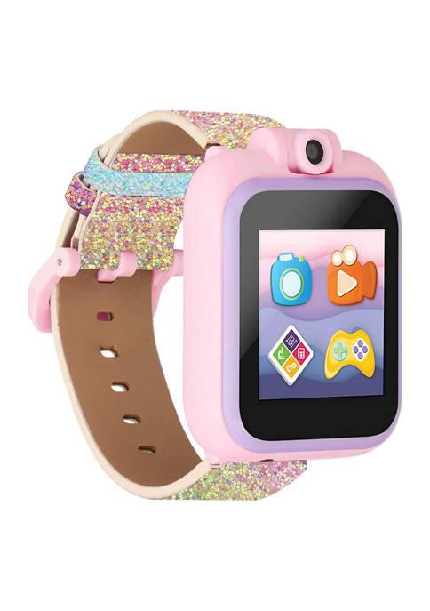 iTouch PlayZoom 2 Kids Smartwatch: Textured Rainbow Glitter