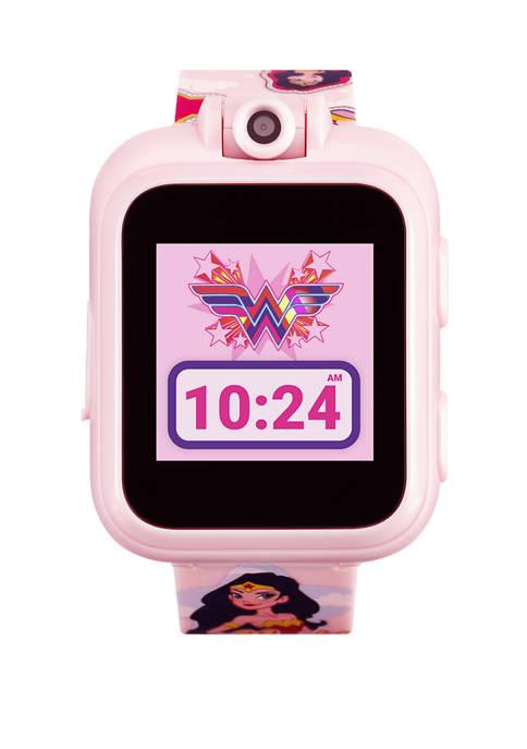 iTouch PlayZoom DC Comics Smartwatch- Blush Wonder Woman