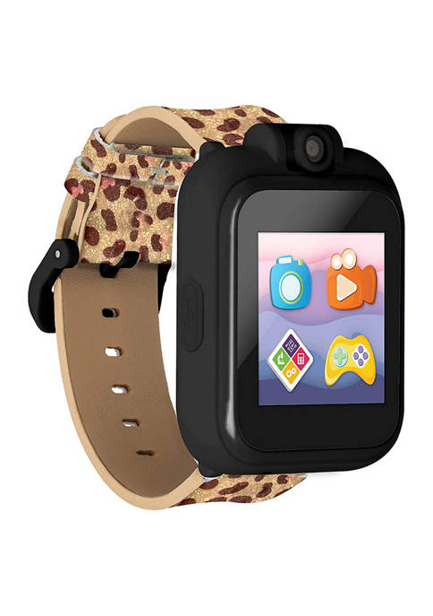 iTouch PlayZoom 2 Kids Smartwatch: Leopard Print