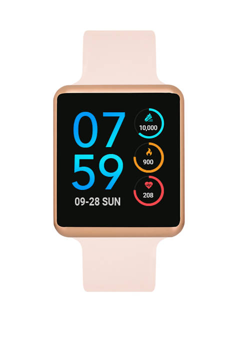 Womens Rose Gold Tone Air Smart Watch