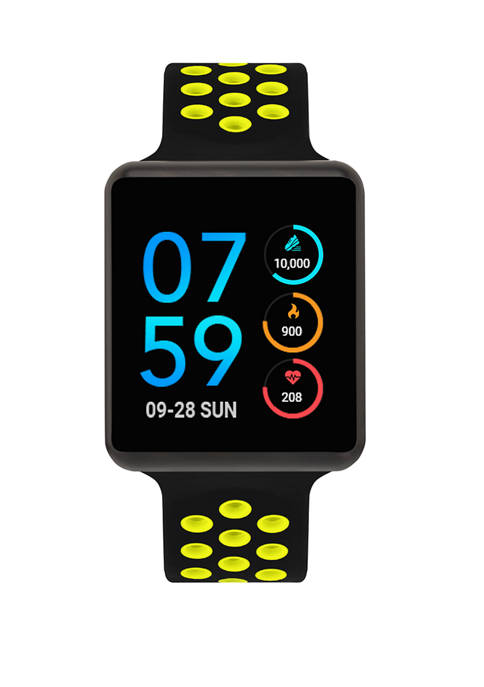 iTouch Jet Perforated Strap Smartwatch