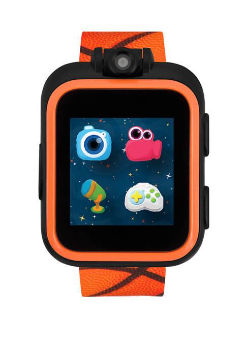 PlayZoom Smartwatch For Kids: Basketball Print