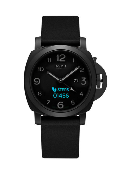 B FIT WATCH® iTouch Connected Black Case/Black Strap