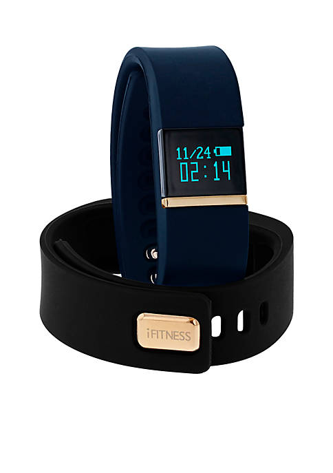 iTouch Wearables Womens iFITNESS Navy Blue Activity Tracker