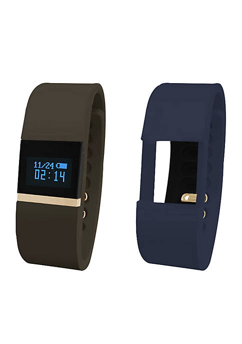 iTouch Wearables iFitness Gold-Plated Activity Tracker Watch
