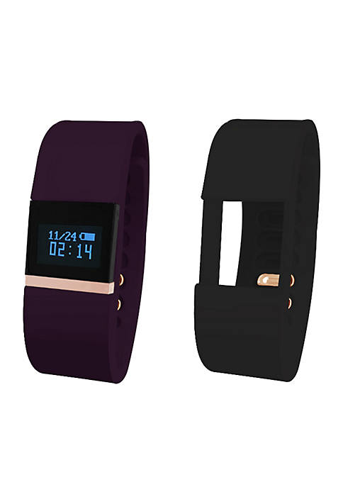 iTouch Wearables iFitness Rose Gold-Tone Activity Tracker Watch