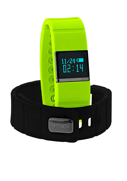 iTouch Wearables Mens iFITNESS Lime Activity Tracker