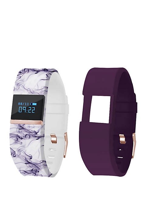iFitness Activity Tracker Pedometer Printed Watch