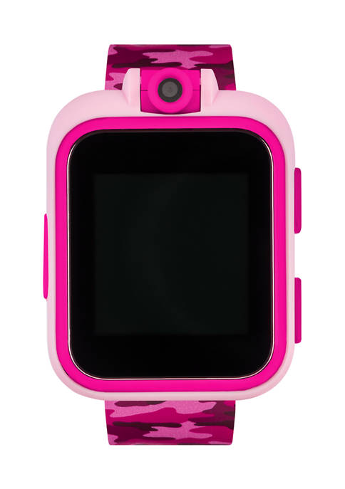 PlayZoom Smartwatch For Kids: Pink Camo Print