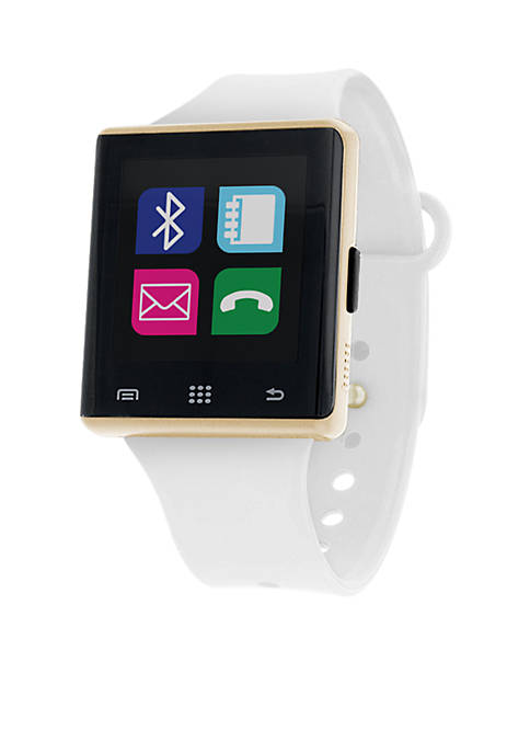 iTouch Air Smart Watch Gold and White
