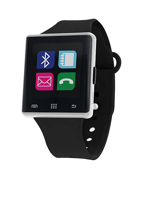 iTouch Wearables Silver-Tone iTouch Air Smart Watch