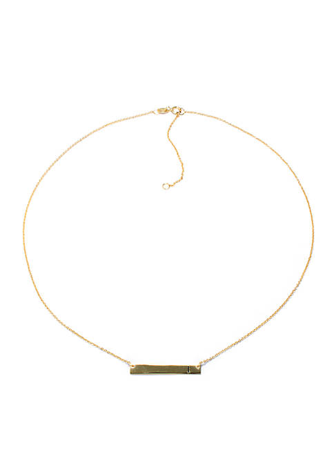 evie & emma Gold Over Sterling Silver Initial