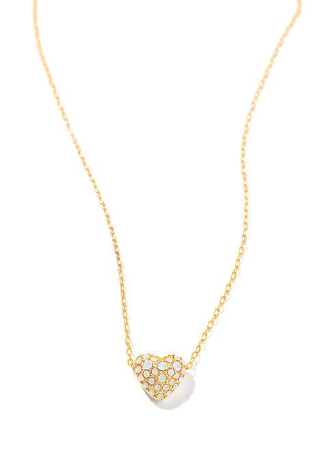spartina 449 Bursting Heart Necklace