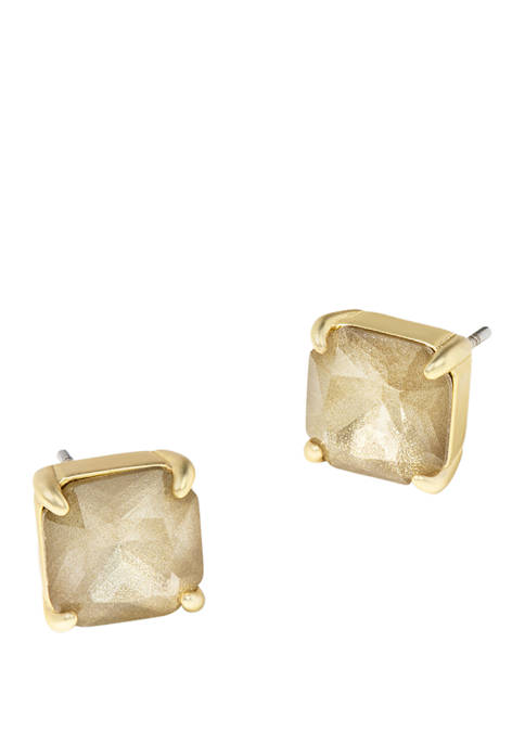spartina 449 Gilded Gold Abyss Stud Earrings