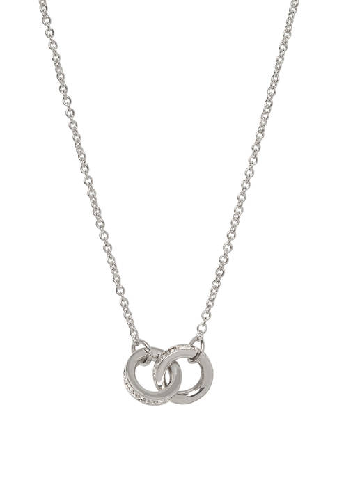 spartina 449 Unbreakable Double Rings Necklace