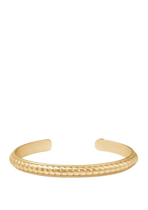 spartina 449 Naia Bitty Cuff Gold Bracelet
