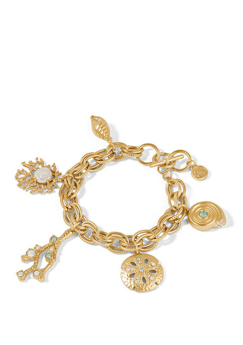 spartina 449 Sea Treasures Toggle Gold Bracelet