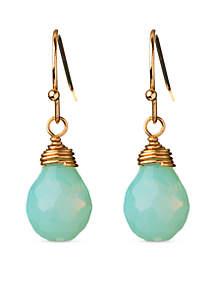 18K Gold-Plated Sea La Vie Relax Drop Earrings