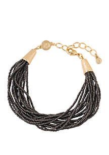 18k Gold Plated Luxe Bead Bracelet