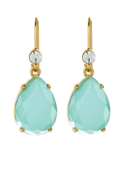 spartina 449 Gold-Tone Cora Teardrop Earrings
