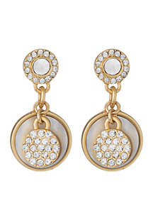 spartina 449 Pearlescent Mod Dot Earrings