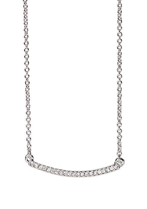Silver-Tone Sea La Vie Rock It Necklace