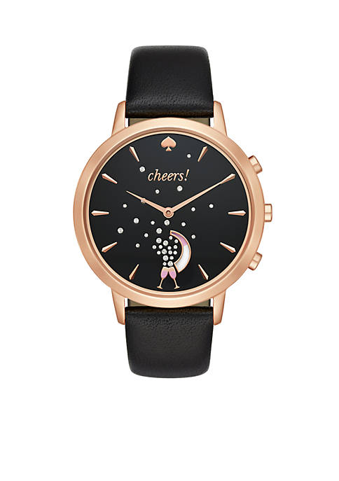 kate spade new york® Rose Gold-tone and Black