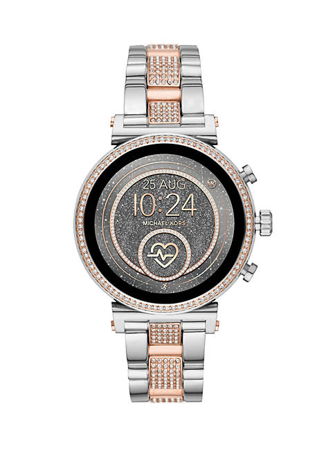 Michael Kors Stainless Steel Access Sofie Heart Rate
