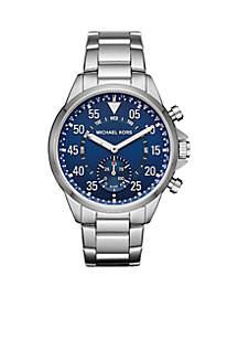 Michael Kors Men's Gage Stainless-Steel Hybrid Smartwatch
