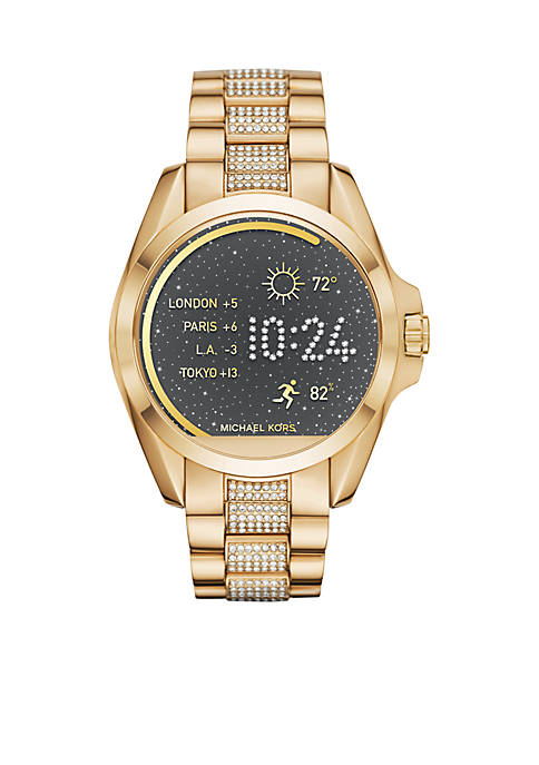 Connected Womens Bradshaw Gold-Tone Smartwatch