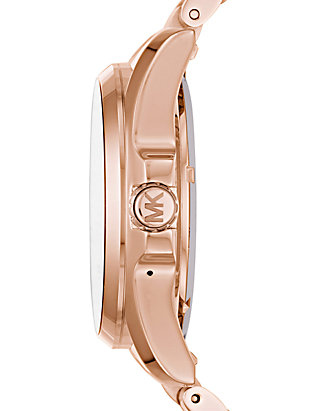 7f5afa6700bc ... Michael Kors Connected Womens Bradshaw Rose Gold-Tone Smart Watch ...