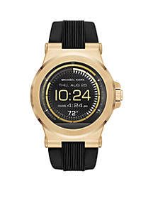 Men's Gold-Tone Display SmartWatch