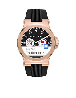 7847a43b9e2a Michael Kors. Michael Kors Connected Men s Dylan Rose Gold-Tone Smartwatch