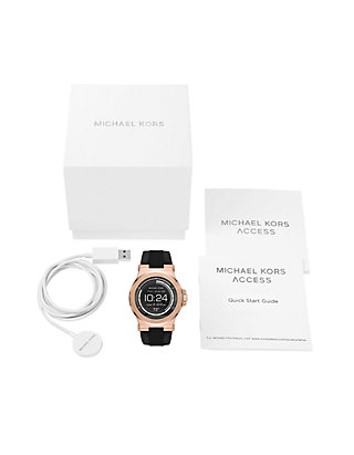 506a4dd9e1ab ... Michael Kors Connected Mens Dylan Rose Gold-Tone Smartwatch