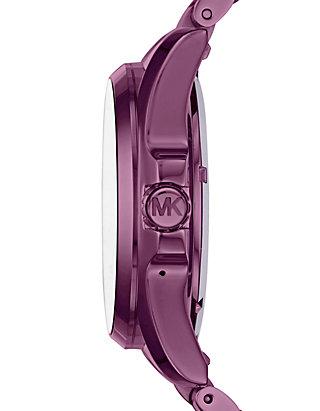 Michael Kors Access Bradshaw Touchscreen Plum Smartwatch Belk
