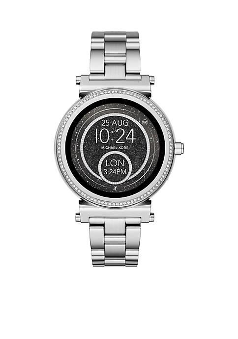 Michael Kors Access Womens Sofie Stainless-Steel Touchscreen