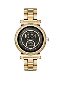 Access Women's Sofie Gold-Tone Touchscreen Smartwatch