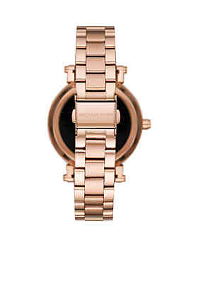 ... Michael Kors Access Women s Sofie Rose Gold-Tone Touchscreen Smartwatch ec3c685249