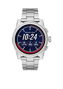 Michael Kors Access Men's Grayson Stainless-Steel Touchscreen Smartwatch